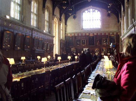 the Great Hall, CHrist Church (used in Harry Potter)