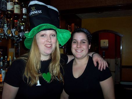 Leanne and I St Patrick's Day