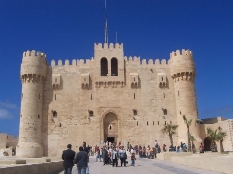the castle/fort