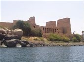 approaching island of Philae temples: by keera, Views[356]