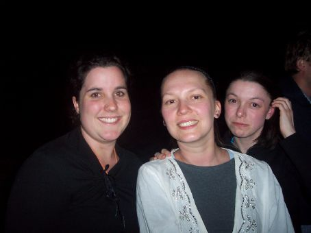 Myself, Sarah and Lyn at tribal dancing  on felucca night 2