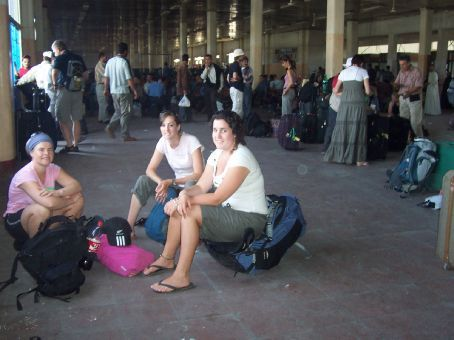 waiting for the ferry to Aqaba