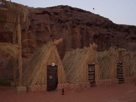 the camp at wadi rum