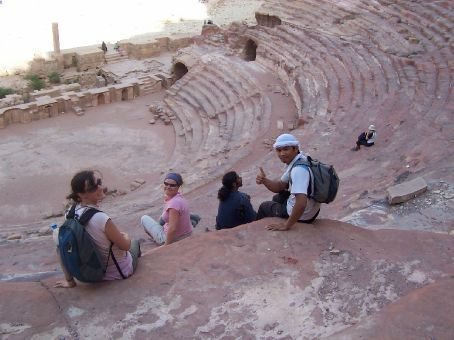 Nabatean and Roman amphitheatre, Petra