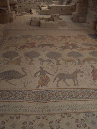 Mt Nebo, mosaic floor