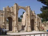 Jerash, entrance: by keera, Views[255]
