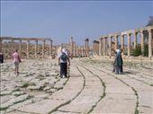 roman plaza at Jerash: by keera, Views[368]