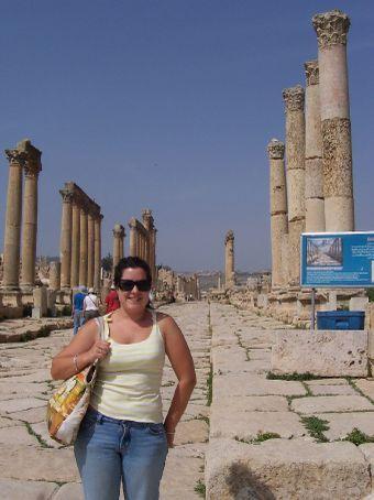 Jerash colonade