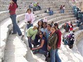 being mobbed by Jordanian schoolgirls at Jerash: by keera, Views[474]