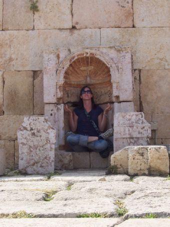 Michelle at Jerash