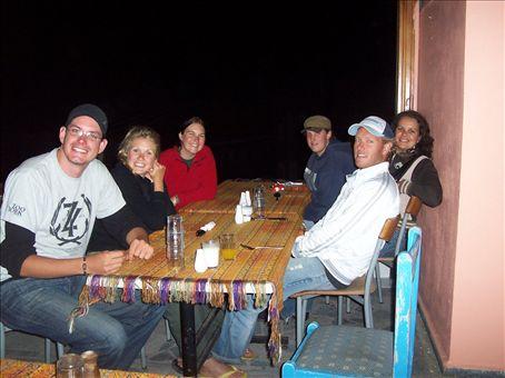 darren, nicole, freya, laura, troy at Doy Doy's restaurant