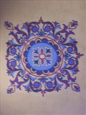 ceiling inside Aya Sofya: by keera, Views[246]