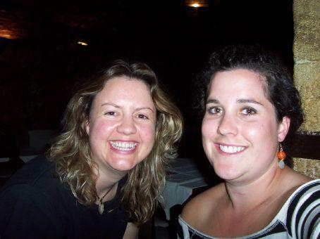 Viv and I at gala dinner