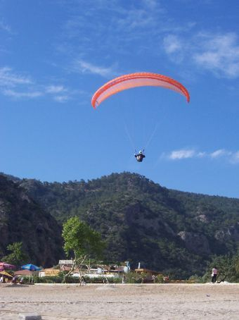 people paragliding at Oludeniz