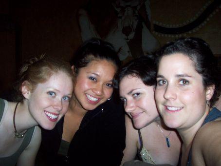 anndrea, kristine, tegan and I