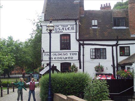 Ye olde Jerusalem Inn, Nottingham
