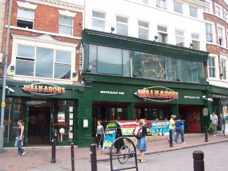 the Walkabout, Derby