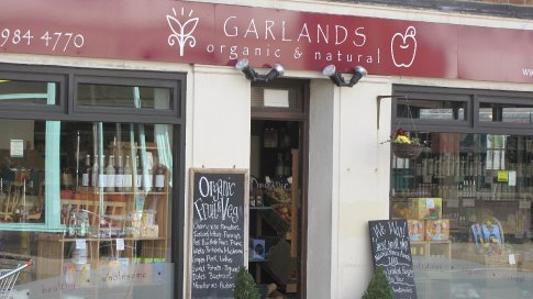 Organic shop in Pangbourne. They even have organic wine and beer...