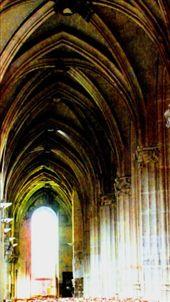 Internal of St Severin: by keith_austin, Views[420]