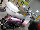 random cute scooter on the street: by kelly, Views[315]