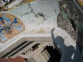 Barcelona - Park Guell another shadow pic: by kelly, Views[355]