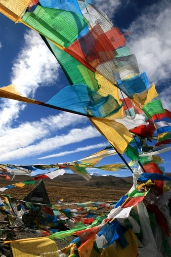 Pray in the Mountains - Tibet