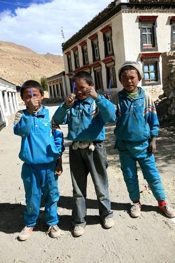 Thank You My Friends - Tibetan Kids