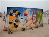 Mural for Busan's 2011 Sand Festival.: by kelward, Views[271]