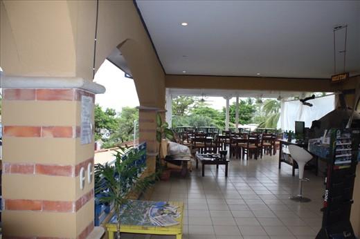Hostel dining area