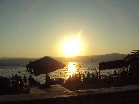waterfront in aqaba first day in jordan