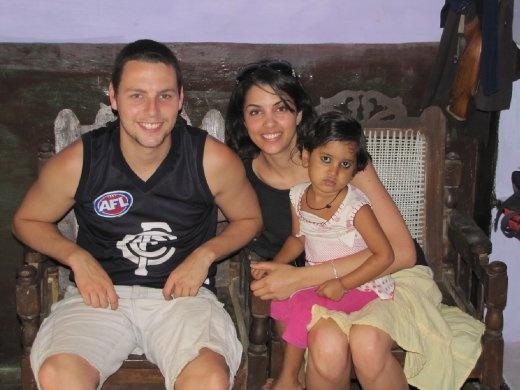 with smiley joe's family