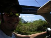 Eric driving on our Jeep Safari: by kiley, Views[207]