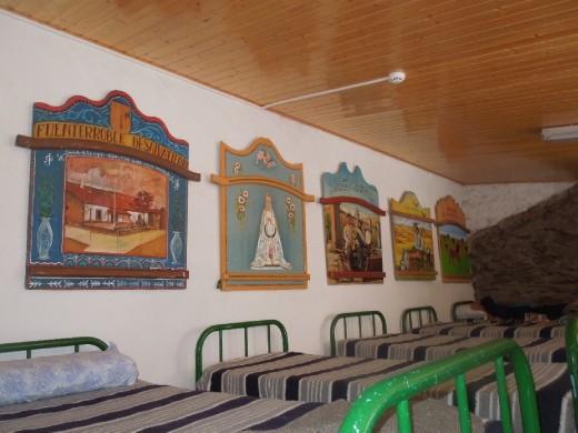 Albergue at Pico de la Duena: 24 beds in this room