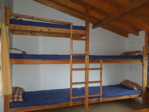 sleeping accomodations at Guemes...
