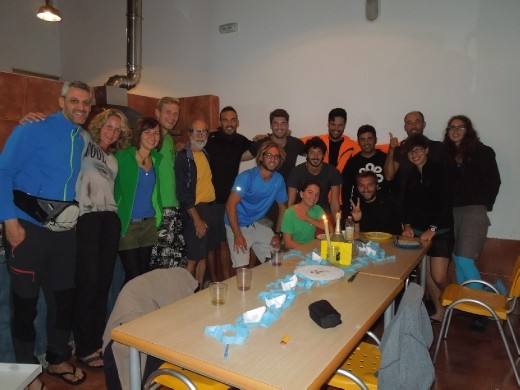 Day 27: Juan's 64th birthday party! Celebrated at Cadaro Baleira.