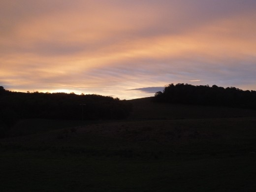 Day 28: a lovely start to the day on the Way to Lugo!