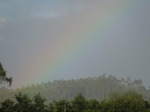 Day 30: Rainbows everywhere on the Way to Ribadiso!