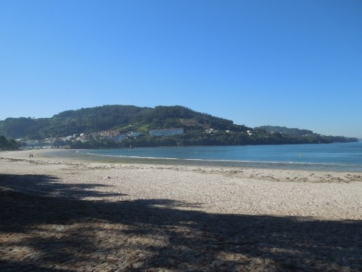 Day 34: I went swimming and sunning at this lovely beach in Pontedueme.