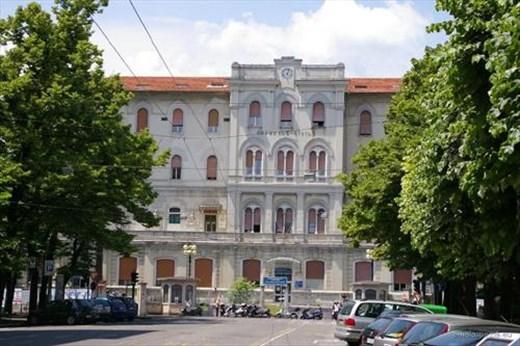 The hospital at La Spezia Italy
