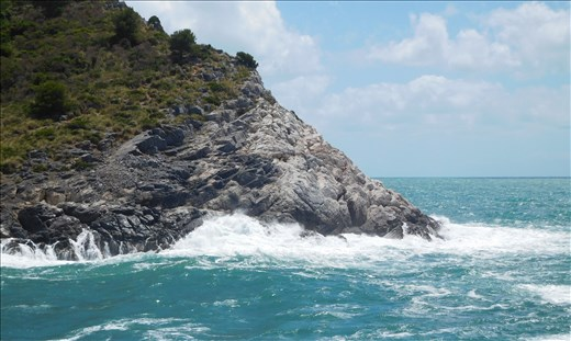 Rough Sea at Passage to the Med