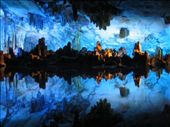 Reed Flute cave - best example of bright coloured lighting, there was much worse: by kirank, Views[204]