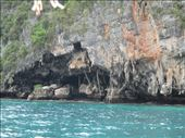 Viking Cave, Koh Phi Phi Le.  This is where swallow nests are harvested for Bird's Nest Soup.: by kirmily, Views[85]