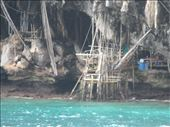 Viking cave on Koh Phi Phi Le.  People live in the caves.: by kirmily, Views[101]