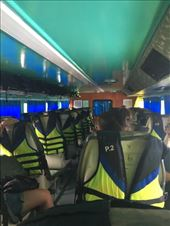 Ferry from Koh Phi Phi to Koh Lanta in rough seas: by kirmily, Views[59]