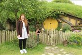 I stood before the very first Hobbit whole upon entering the Shire and was overjoyed by the detail and natural wildlife surrounding the cosy yet petite built in home. : by kirstenmmajor, Views[974]