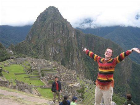 Machu Picchu! I love you thiiis much!