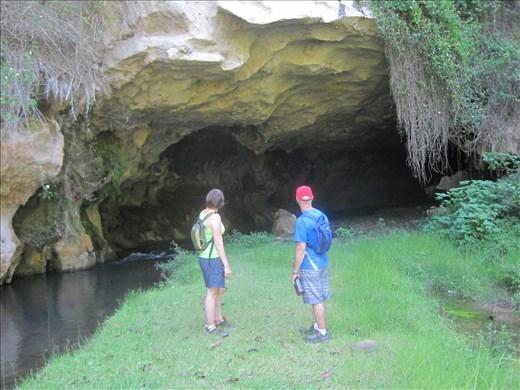 Cave in Sagada