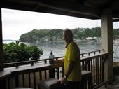 Wayne in Sabang Pub- everything is on the beach: by kirstenroche, Views[117]