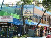 This could be at Bondi! Tourist strip at Manuel Antonio: by kirstenvelthuis, Views[137]