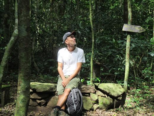 At Selva Negra Eco-resort/ Coffee farm